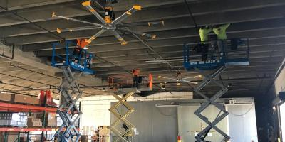 Electric Service Shares Why Commercial Estates Should Install Big Ass Fans™ , Ewa, Hawaii