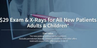 $29 Exam & X-Rays for New Patients, Anchorage, Alaska