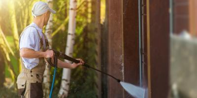 How Long After Pressure Washing Should a Painter Be Booked?, Katy, Texas