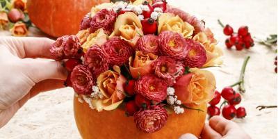 3 Stunning Flower Arrangements for Your Thanksgiving Centerpieces, Port Jervis, New York