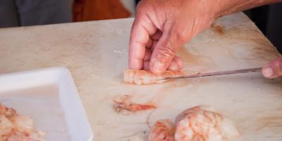 Ready for a Seafood Dinner? How to Properly Clean Shrimp Before Eating, Bon Secour, Alabama