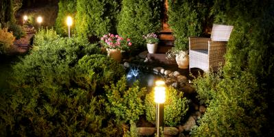 How to Choose the Best Landscape Lighting for Your Home, Le Roy, New York