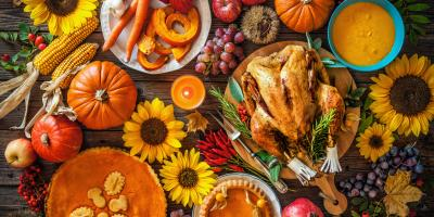 3 Thanksgiving Bouquets for Your Dinner Table, Lakeville, Connecticut