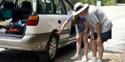 What to Do If a Tire Blows Out While Driving, Loveland, Ohio