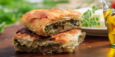 Local Greek Restaurant Dishes on the Secret to Delicious Spanakopita, Stamford, Connecticut
