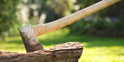 When Is the Best Time of Year for Splitting Wood?, West Bridgewater, Massachusetts