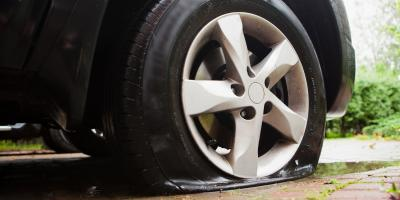 What To Do If You Get a Flat Tire, Kannapolis, North Carolina