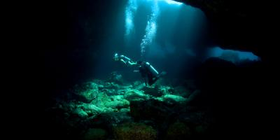 Lava Tube Dive Tours Offer An Exciting Twist On Scuba Diving, Honolulu, Hawaii