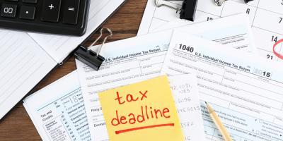 3 Perks of Filing Personal Tax Returns Early, Crossett, Arkansas