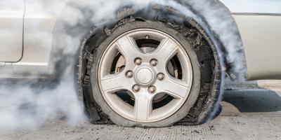 Guide to Blowouts & Driving on a Spare Tire, Wentzville, Missouri