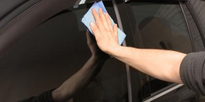 How to Clean Car Windows After Window Tinting, Granite City, Illinois