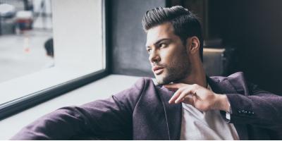 Men's Haircut Guide: The Pompadour, Trumbull, Connecticut