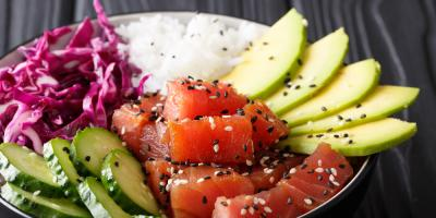 5 Hawaiian Poke Bowl Toppings to Try, Honolulu, Hawaii