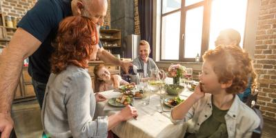 Ohio's Favorite Catering Company Explains 4 Benefits of Family Dinners , Newtown, Ohio