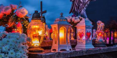 An Introduction to Eternal Lights for Gravestones, Le Roy, New York