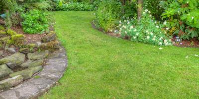5 Garden Edging Stone Ideas, Stallings, North Carolina