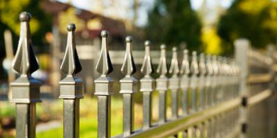 Why You Should Choose an Aluminum Fence Instead of a Wrought Iron One, Nicholasville, Kentucky