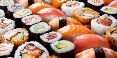 5 Popular Types of Sushi, Sumner, North Carolina