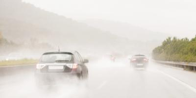 Vehicle Maintenance Team Lists 3 Safety Tips for Driving in the Rain, Anchorage, Alaska