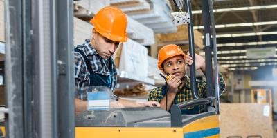 3 Tips for Operating a Forklift, South Plainfield, New Jersey