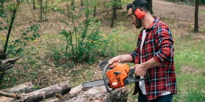 A Beginner's 5-Step Guide to Using a Chainsaw, Franklinville, New York