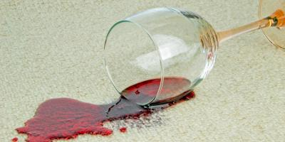 How to Treat a Wine Stain on Your Carpet, Warren, Indiana