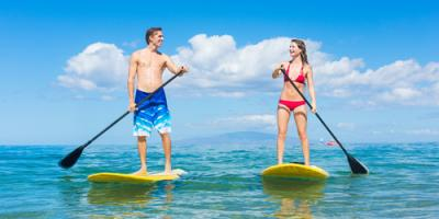 3 Reasons a Paddle Boarding Lesson Is a Great Idea for a First Date, Santa Monica, California