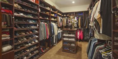 4 Ways to Store Shoes in a Walk-In Closet, Covington, Kentucky