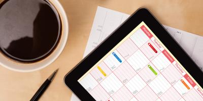 How to Use Color-Coded Calendars on Apple® Devices, St. Petersburg, Florida
