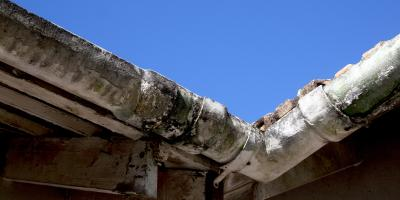 How Do Old Gutters Affect Your Roofing, Siding & Windows?, Dayton, Ohio