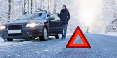3 Steps to Take During a Winter Breakdown, Burney, California