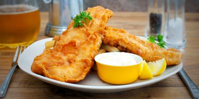 The Origin of Fish & Chips, Lincoln, Nebraska