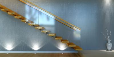 4 Benefits of Glass Stair Railings, Spring Valley, New York