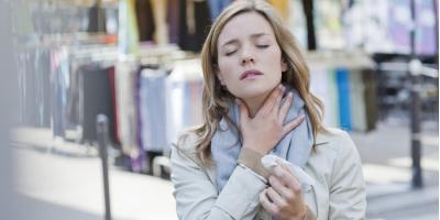 4 Common Causes of a Sore Throat, Manhattan, New York