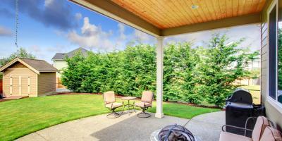 4 Benefits of Concrete Patios, O'Fallon, Missouri