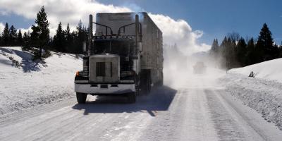 3 Winter Safety Tips for Truckers, St. Louis, Missouri