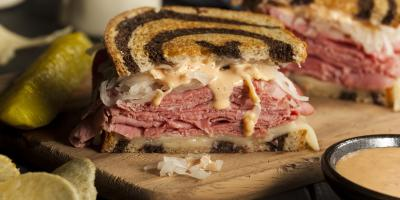 A Brief History of the Reuben Sandwich, Branson, Missouri