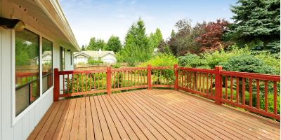 How to Ready Your New Deck for Staining, Lexington-Fayette Central, Kentucky