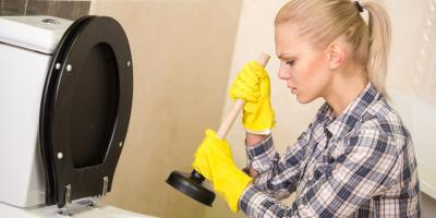 How Should You React to a Clogged Toilet?, Norwalk, Connecticut
