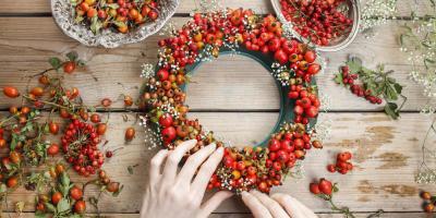 Bring the Garden Indoors: 3 Tips for Making a Festive Wreath, Texarkana, Texas