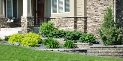 Top 4 Types of Retaining Walls , Saratoga, Wisconsin