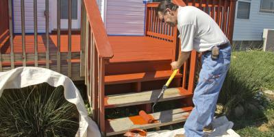 Should You Stain or Paint Your Deck?, Islip, New York