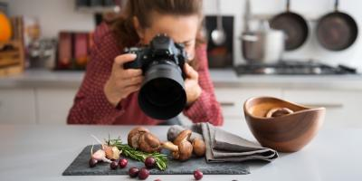 3 Tips for Food Photographers When Choosing Cameras & Accessories, Covington, Kentucky