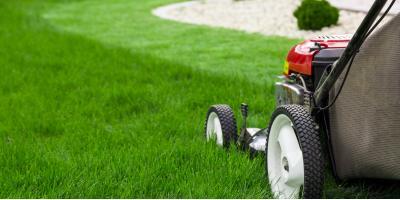 How to Mow Around Your AC Unit, Ellsworth, Wisconsin
