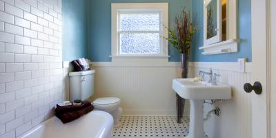 How to Make a Small Bathroom Look Bigger, West Haven, Connecticut