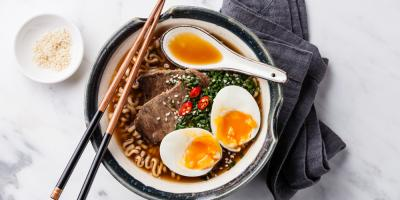 A Honolulu Restaurant Explains the Different Types of Ramen, Honolulu, Hawaii