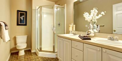 Using Patterned or Frosted Designs in Shower Glass Doors & More, Greece, New York