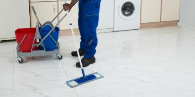 How to Care for Concrete Flooring, Pierce, Ohio