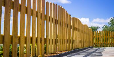 A Fence Contractor Explains 3 Different Types of Fences, Nicholasville, Kentucky
