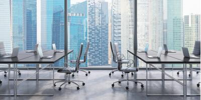 Benefits & Drawbacks of Open Floor Plan Office Design, Davenport, Washington